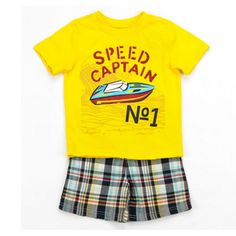 Speed Captain 2 Piece set, available at http://ilovebabyclothes.com/?page_id=666 $24