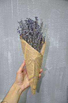 Купить Лаванда букет сухоцвета в винтажном стиле - фиолетовый, лаванда, букет лаванды, сухая лаванда