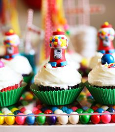 Rainbow Bubblegum Themed Birthday Party
