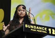 History-maker Ava DuVernay becomes the first black woman to win Sundance's Best Director Award. Female Directors, Best Director, Sundance Film Festival, Ava, Black Women, Cinema, Woman, History, Inspiration