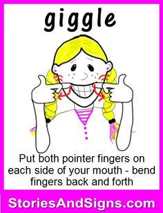 Learn to sign the word. C's books are fun stories for kids that… Sign Language Chart, Sign Language For Kids, Sign Language Phrases, Sign Language Alphabet, Sign Language Interpreter, British Sign Language, Learn Sign Language, Foreign Language, Fun Stories