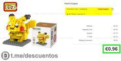 Figura Pikachu tipo LEGO desde 096 (con envío GRATIS) - http://ift.tt/2nzXUIc