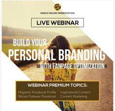 Webinar Facebook Personal Branding: Webinar Facebook Personal Branding
