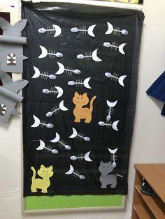 Kedi ve balıkları Öznur Öğrt HAVSA vilayetler anaokulu