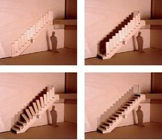 15 Creative and Modern Staircase Designs >>Retractable Staircase