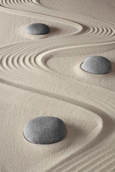 thekimonogallery:themagicfarawayttree:Zen Garden. Photography by by Dirk Ercken