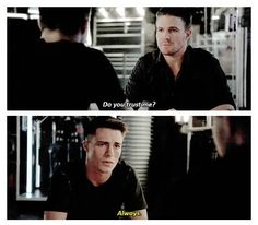 """Oliver and Roy """"Do you trust me?"""" """"Always."""" I really love how their friendship has blossomed"""