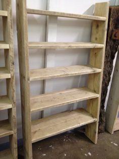 Scaffolding board shelves