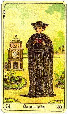 Sibilla card - Priest