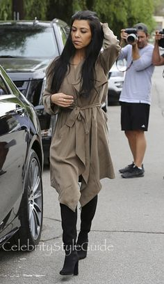 Surprise! Kourtney Kardashian's Chic Trench Coat Is Actually Affordable