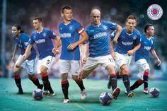Glasgow Rangers Zawodnicy - plakat - 91,5x61 cm  Gdzie kupić? www.eplakaty.pl