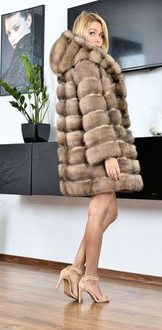 sable furs - barguzin russian sable fur coat