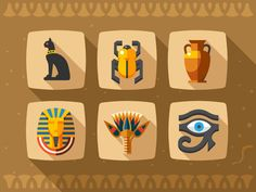Creative Ancient, Egypt, Art, Illustration, and Inspiring image ideas & inspiration on Designspiration Prop Design, Design Art, Graphic Design, Flat Design, Egypt Games, Egypt Design, Creative Inspiration, Design Inspiration, Train Drawing