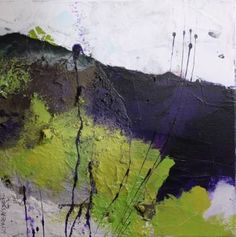 "Saatchi Art Artist Daniela Schweinsberg; Painting, ""Lavender field (work no. 2012.30)"" #art"