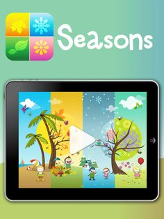 Cute educational pre-schooler app for iphone and ipad.  It consist of 4 activities themed for each season.  Try it out!