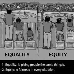 Equity is fairness in every situation.   #dark_universe_09  #Kemet #Kings #Negus #Ankhlife #Ancestors #AncientKnowledge #HigherConsciousnessuk #SpiritualGangster #SpiritualFamily #Facts #Truth #ThirdEyeOpen #TruthSeeker #RealTalk #WakeUp #WiseUp #RiseUp #Melanin #Queens