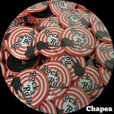 Chapas Rock&Roll, #ChapasPersonalizadas