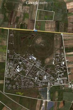 San Vito Italy Radar Array Near The US Air Force Base Ive - Us air force bases in italy map