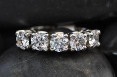 14K Diamond Band - 2.14 Carats - sooooo Pretty!