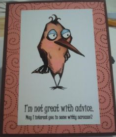 Crazy Birds by Nan Cee's - Cards and Paper Crafts at Splitcoaststampers