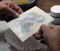 Splitcoaststampers - Stencil Paste Embossing Technique Tutorial by Linda Bullard Card Making Tips, Card Making Tutorials, Card Making Techniques, Making Ideas, Embossing Techniques, Embossed Cards, Card Sketches, Cricut, Cool Cards