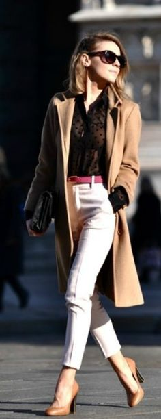 ★how2wear a camel coat★ with a pink belt // @dressmeSue pins real outfits