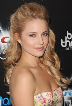 Celebrity Half Up Half Down Prom Hairstyle   Hairstyles Weekly