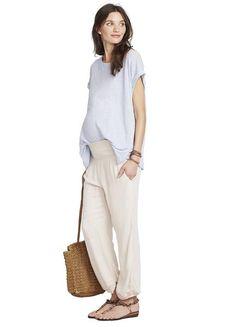 4a83978eb6aba HATCH Maternity Clothing - THE BEACH PANT – HATCH Collection Hatch Maternity,  Beach Pants,