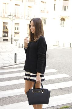 Marta Carriedo , In mini skirt lin, very short