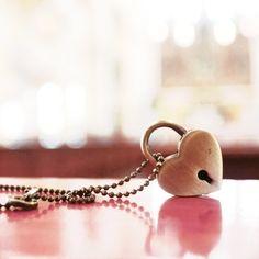 candado corazon
