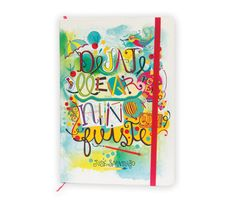 Notes / Cuadernos by Car Pintos, via Behance