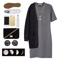 """""""Style it like you love it"""" by ziamsangelz on Polyvore featuring T By Alexander Wang, LowLuv, H&M, Vans, Forever 21, S'well and The Row"""