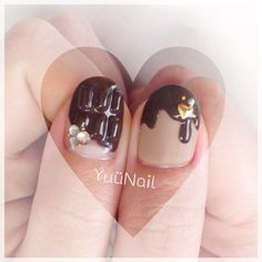 20 nail art designs for Valentine's day <3