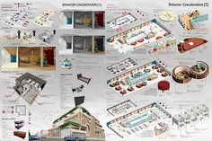 rehabilitation center for street children on Behance Architecture Concept Diagram, Revit Architecture, Rehabilitation Center Architecture, Graduation Project, Street Children, Study Materials, Autocad, Facade, Photo Wall