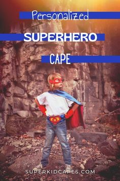 Are you looking for a special halloween costume for your little boy? Our boys personalized superhero cape is the perfect costume for kids of all ages. Our handmade superhero cape is perfect for school dress-up days, Christmas gifts, Halloween costumes, or big brother gifts. Your little guy will love the bright colors, soft material, and personalized initial on the back. Visit superkidcapes.com for more last minute halloween ideas and inspiration! Superhero Costumes For Boys, Superhero Dress Up, Superhero Capes, Birthday Gifts For Boys, Unique Birthday Gifts, Big Brother Gifts, Halloween Ideas, Halloween Costumes, Personalized Gifts For Kids