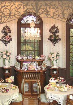 Tea Room by Cynthia Howe