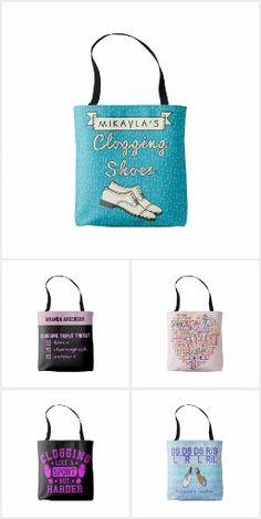 Personalised Highland Dancing Dance Bag 2 colour design shoulder bag