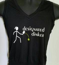 Women's Designated Dinker Pickleball T-shirt