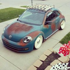 rat style new beetle Hah i gotta say thats not half bad!