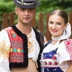 Podpolanie, Slovakia Folk Costume, Costumes, Enchanted Doll, Folk Clothing, Eastern Europe, Folklore, Portraits, Culture, People
