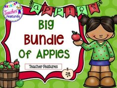Apples Bundle: Language Arts: K-1 This bundle contains 4 products and over 110+ pages. A fantastic value on favorite products all bundled together!