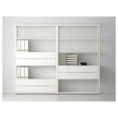 FJÄLKINGE . use a combo of these shelfs/drawrs tc for media unit.  approx $700 with this, 1 more extra drawer and sm shelf