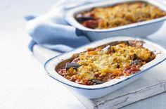 Onion, aubergine and tomato bake - Tesco Real Food