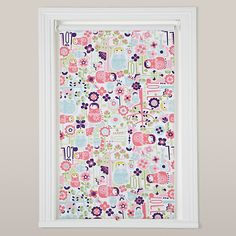 Buy Chad Valley Owl Blackout Roller Blind At Argos Co Uk