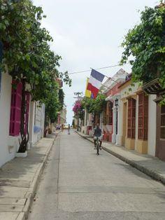 Rua de Cartagena - Cartagena das Índias
