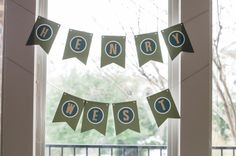 bunting  |  where the wild things are first birthday party