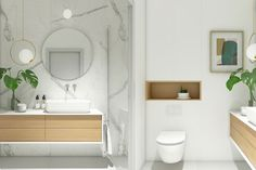Astounding 12 Astonishing Minimalist Bathroom Design Ideas for Inspiration Who does not want to have a bathroom that is cool, clean, and makes you feel at home taking a long shower? The minimalist bathroom can be your choice . Minimalist Bathroom Design, Minimal Bathroom, Minimalist Room, Minimalist Home Decor, Bathroom Design Small, Bathroom Interior Design, Bathroom Styling, Modern Interior Design, Modern Minimalist