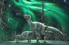 """*Leaellynasaura amicagraphica (meaning """"Leaellyn's lizard"""") It was a plant-eating dinosaur that lived during the Cretaceous period."""
