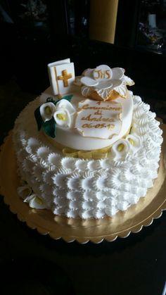 """Torta di panna Prima Comunione, """"le torte di Maví """""""