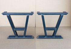 Turned A-Shaped Modern Steel Legs Design Steel Table Legs